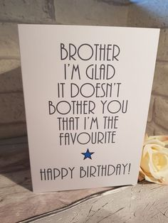 Birthday gifts for sister from brother jewelry super Ideas Birthday gifts for sister from brother jewelry super Ideas Wishes For Brother, Birthday Cards For Brother, Bday Cards, Mom Birthday Gift, Brother Gifts, Brother Sister, Birthday Nails, 16th Birthday, Christmas Birthday