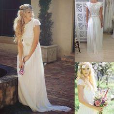 bohemian wedding dress davids bridal