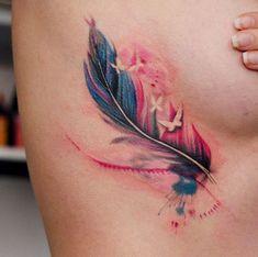 Neue Tattoos, 3d Tattoos, Wolf Tattoos, Trendy Tattoos, Flower Tattoos, Body Art Tattoos, Small Tattoos, Tatoos, Butterfly Tattoos