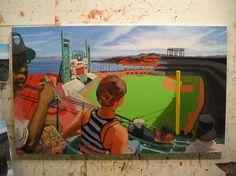 """""""AT+T Park, San Francisco, CA"""" by Max Mason"""
