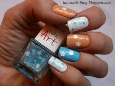 Nail Art Blue Mist nr 236
