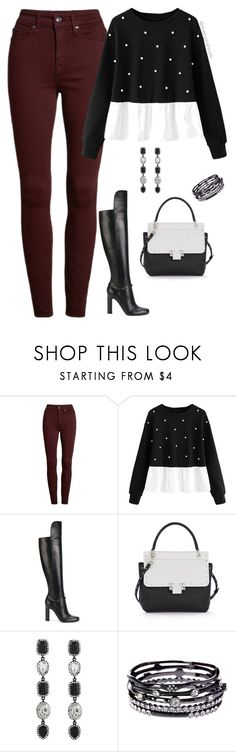 """""""Women's Fashion"""" by stylebyshannonk on Polyvore featuring Good American, Versace, Lanvin and ABS by Allen Schwartz"""