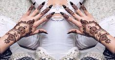 35 #Incredible Henna Tattoo #Design Inspirations ... → #Beauty #Tattoo