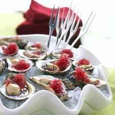 Oysters with Mignonette Ice. Chef Tamara Murphy of Seattle's Terra Plata shared her recipe for this red wine, mignonette granita with Coastal Living. You had me at the thought of a Pinot Noir slushy. #oysterobsession