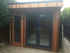Vertical cladding#gardenroom #homeoffice #luxury #summerhouse #artstudio #craftsroom #homegym