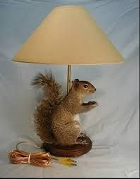taxidermy lamps - Google Search