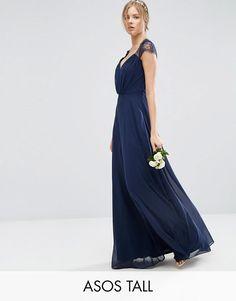 ASOS Tall | ASOS TALL - Kate - Maxi robe en dentelle