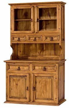 Rustic Furniture When it comes to furniture shopping, few enjoy the quest. Types Of Furniture, Furniture Projects, Furniture Design, Woodworking Projects Diy, Woodworking Furniture, Crockery Cabinet, Partition Design, Diy Kitchen Cabinets, Indian Home Decor