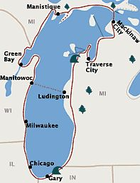 The Lake Michigan Circle Tour is a designated scenic road system that circumnavigates Lake Michigan: excellent roads, huge sand dunes, beautiful vistas, fabulous beaches, and 100 historic lighthouses. Michigan Vacations, Michigan Travel, Vacation Trips, Vacation Ideas, Midwest Vacations, Family Vacations, Weekend Trips, Vacation Destinations, Weekend Getaways