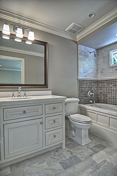 Bathroom Remodel Grey Tile fine bathroom remodel grey wonderful gray for kitchen remodeling