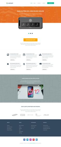 App template is a responsive Joomla template for (but not limited to) application developers, software companies, freelance app developers, and programmers. Joomla Templates, Themes Themes, Mobile Application, App Development, Wordpress Theme, Editor, Software