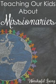 Ever wonder what you could learn from the life of a missionary? Check out this new study. You're going to love how it changes your family!