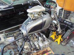1958 Rambler 250 c. Mad Max Motorcycle, Honda Sabre, Honda Valkyrie, Rat Bikes, Chop Chop, Cafe Racer Bikes, Hot Rods, Wheels, Wings