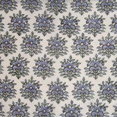 Block Print Fabric | Jarul | Mela & Roam