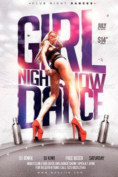 Flyer Girl Night Show