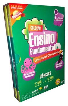 Coleção Ensino Fundamental Videoaulas Ciências 2º e 3º Anos - 2 DVDs - ISBN…