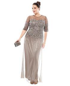 Macys Plus Size Dresses Evening Gowns