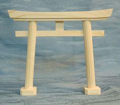 Japan Shinto Shrine Gate – Small Wood Model Torii Tori | Japan Antique Roadshow