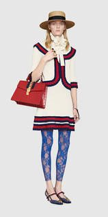 Gucci+Look+73+-+Women,+Cruise+2017+Collection