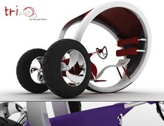 The biggest hugest tricycle in the whole world has been conceptualized by designer Randall Marin. It is a bit different from what you might think of