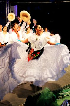 Mexican folklore dancers.