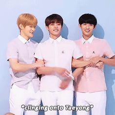Jaehyun and Winwin are flipping precious aw