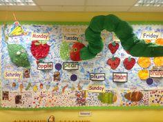 The Very Hungry Caterpillar classroom display photo - Photo gallery - SparkleBox