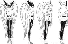 Justice League - Hawkgirl Turnaround