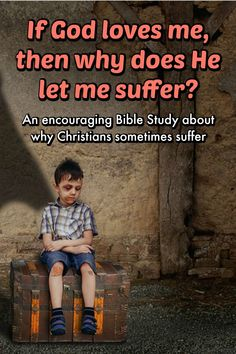 A Bible study about why Christians are allowed to suffer at times. Our God is a good, gracious, loving God. He will turn what was meant for evil against you to become something for your good…even if the mistake was of your own making. Christian Post, Christian Movies, Christian Faith, Christian Living, Bible Encouragement, Christian Encouragement, Pastor Joseph Prince, Sermon Notes, Bible Notes