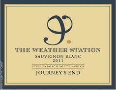 journey's end weather station wijn - Google zoeken