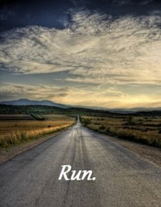 This, right here, is why I run. The peace, the joy, the beauty of being on your own in nature