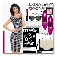 """""""StyleMoi (read description)"""" by stylemoi-offical ❤ liked on Polyvore featuring NARS Cosmetics, Bobbi Brown Cosmetics, Sergio Rossi and Linda Farrow"""