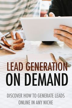 Do you want to grow your online business? Learn how you can generate leads on-demand with our free ebook. Get your copy today at Please repin and leave a comment. We would love to hear from you! Free Website, Lead Generation, Growing Your Business, Free Ebooks, Affiliate Marketing, Online Business, About Me Blog, Tips, Hacks