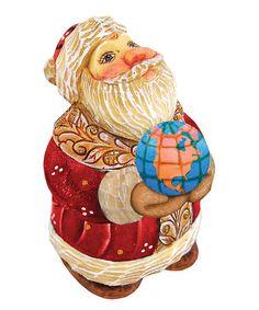 Look at this #zulilyfind! Santa Globe Gift Expressions Ornament #zulilyfinds