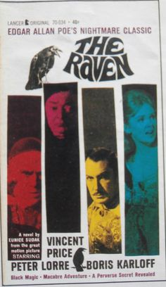 Novelisation of the 1963 film of 'The Raven'.