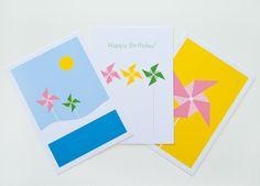 """""""PinwheelMail2"""" Cards by Held&Lykke"""