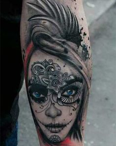Day of the Dead Tattoos|Rebel Circus