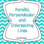 This is a resource for teaching and reinforcing all types of lines in geometry and spatial reasoning (perpendicular, parallel, diagonal, vertical, ...