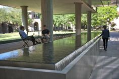 Landscape Design for Brockman Hall for Physics at Rice University / The Office of James Burnett (6)