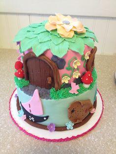 Pirates and pixies  fairy cake
