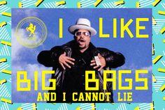 I like big bags and i cannot lie! #big #bags #monocerose