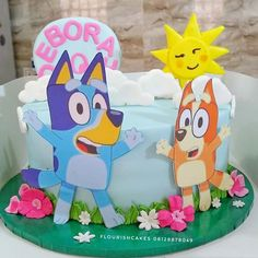 This cake here melted my heart 💖. Amazing Cakes, Sunny Days, Princess Peach, My Heart, First Love, Birthdays, Dog, Instagram, Anniversaries