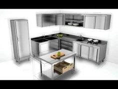 Soluciona de forma rapida y eficaz cualquier espacio de  #cocina industrial con @Distform