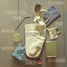 Zero Waste Kit to avoid trash and disposables - Zero Waste Nerd