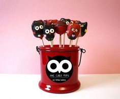 Cute Owl Cake Pops | Flickr - Photo Sharing!