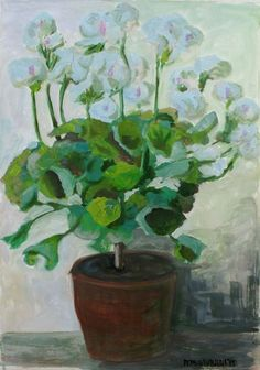 #Flowers, #Art, #Gouache