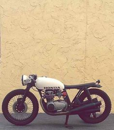 Honda / Brat style -  Seen on CAFERACER.NYC