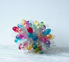 French glass sculpture