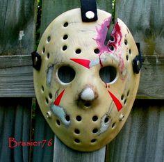 Part 4 hockey mask I painted and selling on ebay.