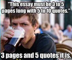 pretty much what I thought through college